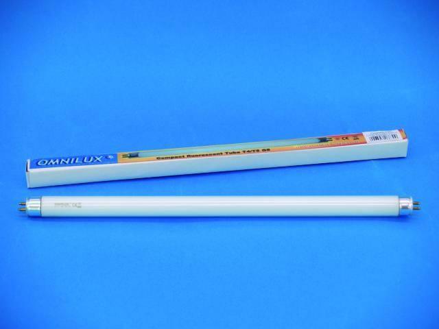 Trubicová žárovka Omnilux T5 287 mm, G5, 230V/8W