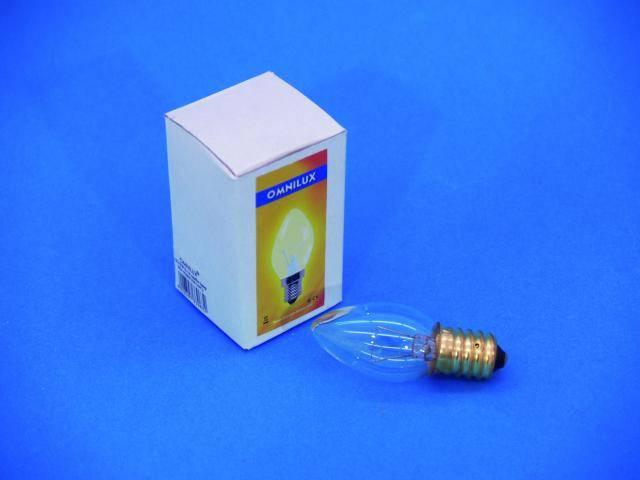 Žiarovka sviečka Omnilux, E14, 12V/5W, 1000 h