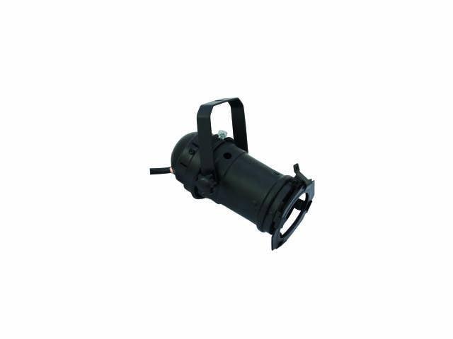 Reflektor Eurolite PAR 16, GU-10, typ spot, čierny