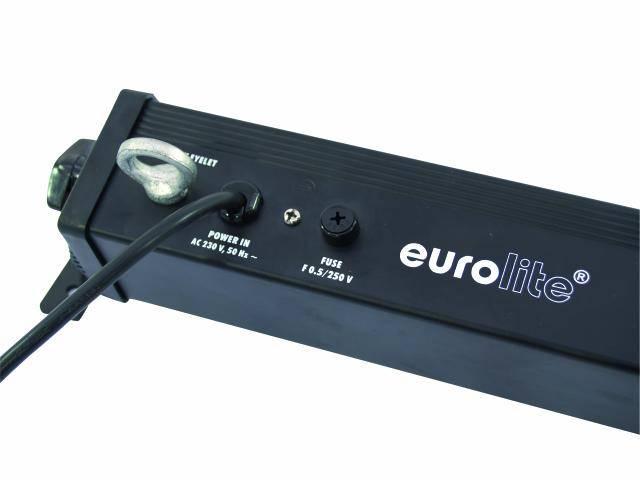 LED DMX farebný reflektor Eurolite BAR-252, 252 LED