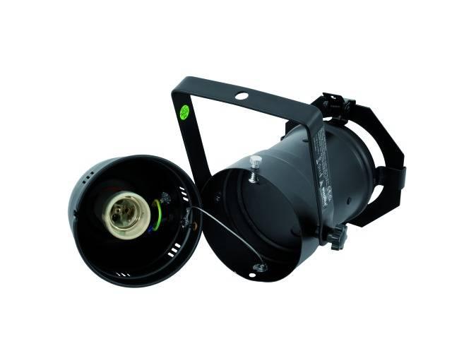 Halogénový PAR reflektor Eurolite PAR-30 Spot, čierna