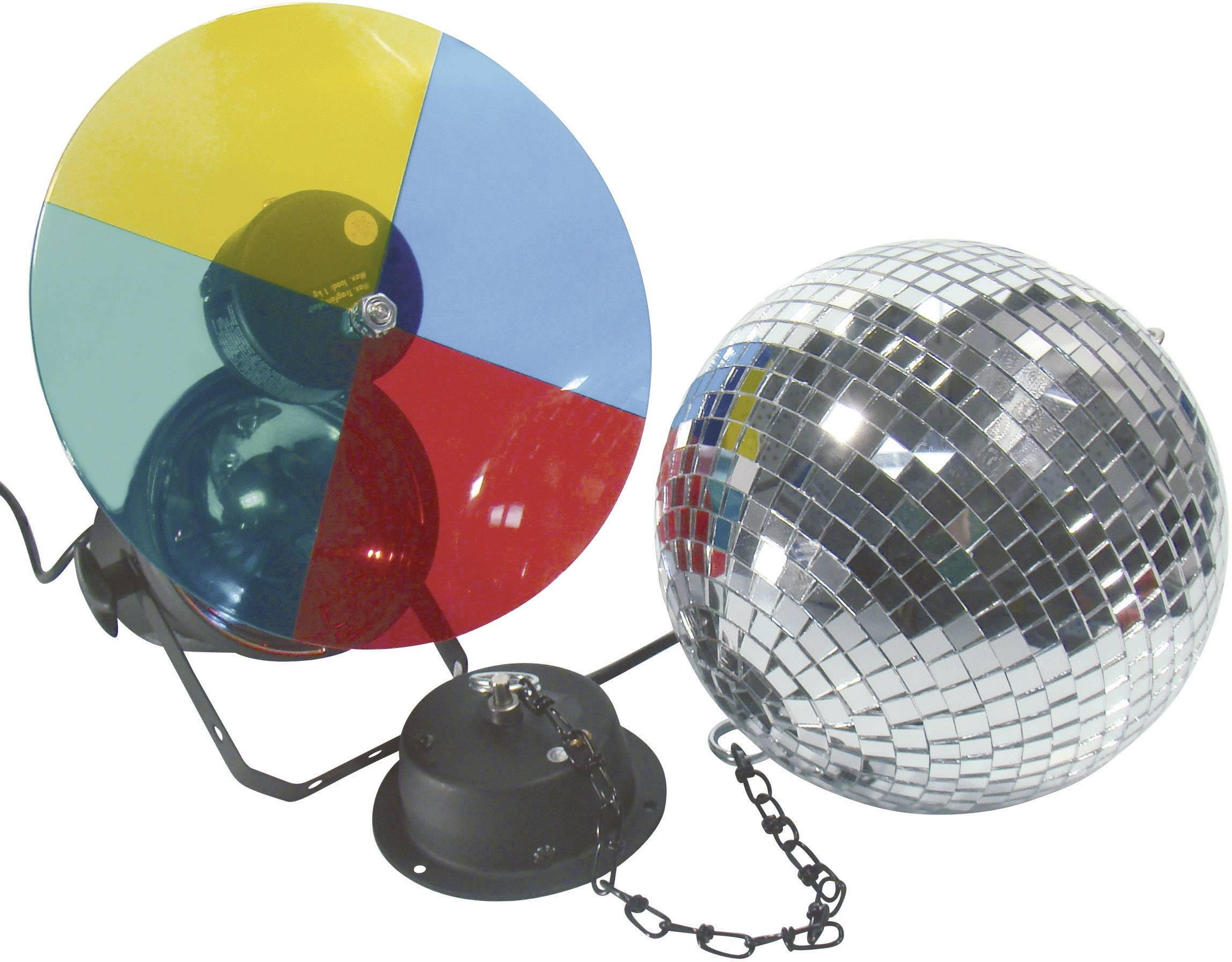 Party osvětlení, řetězy a koule