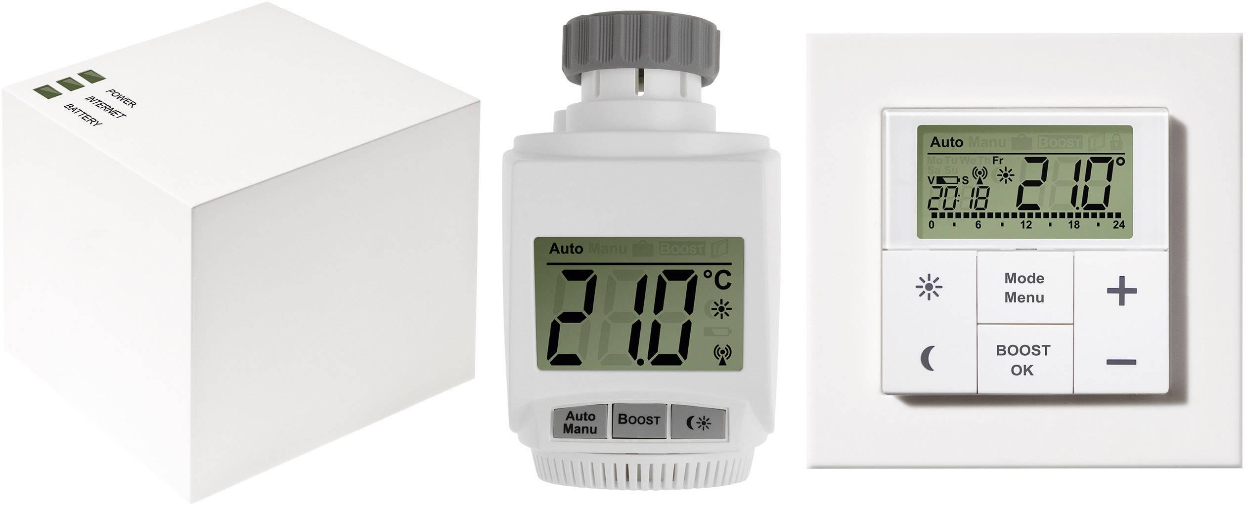 Sada bezdrátového termostatu eQ-3 MAX! + 1x hlavice
