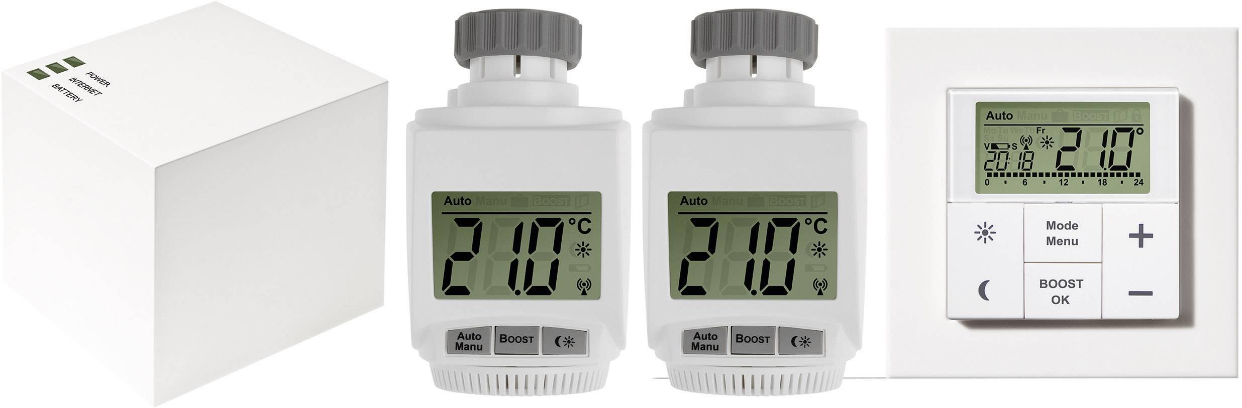 Sada bezdrôtového termostatu eQ-3 MAX!+ 2x hlavice