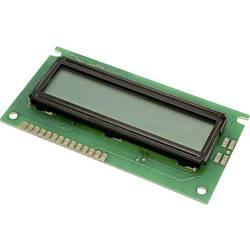 LCD displej LUMEX LCM-S01602DSR/B LCM-S01602DSR/B, (š x v x h) 44 x 8.8 x 84 mm, zelená