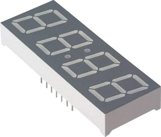 7-segmentový displej Broadcom HDSP-B04E, počet číslic 4, 14.22 mm, 2.05 V, červená