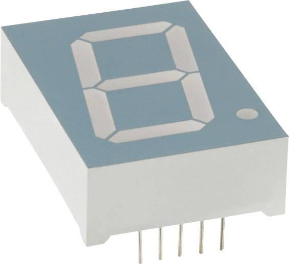 7segmentový displej LUMEX, červená, 25.4 mm, 4 V, počet číslic: 1