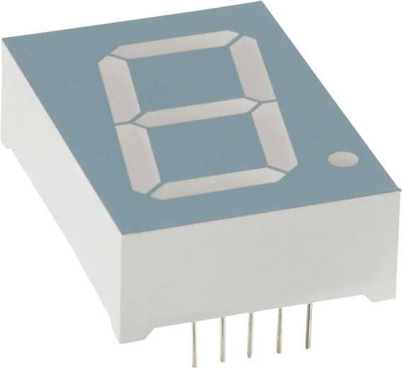 7segmentový displej LUMEX, zelená, 25.4 mm, 4.4 V, počet číslic: 1