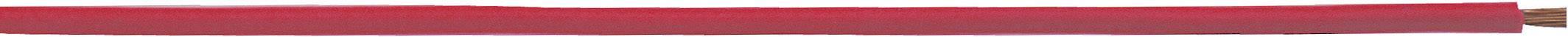 Opletenie / lanko LappKabel 4510043 H05V-K, 1 x 1 mm², vonkajší Ø 2.60 mm, 100 m, červená