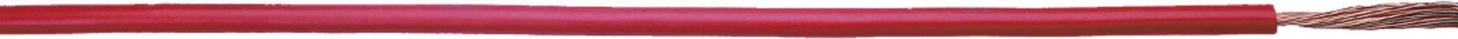 Opletenie / lanko LappKabel 4160704 Multi-Standard SC 2.1, 1 x 6 mm², vonkajší Ø 4.90 mm, metrový tovar, červená