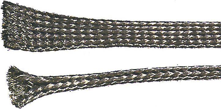 Měděný oplet Lappkabel, 61721370, 1 - 4 mm