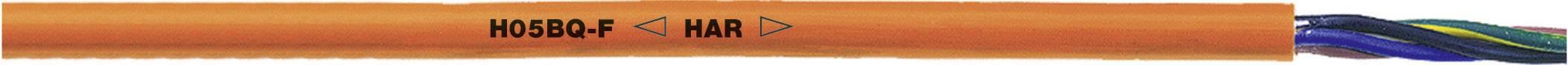 Pripojovací kábel/vodič ÖLFLEX® 550 P LappKabel 0013610, 2 x 1 mm², oranžová, metrový tovar