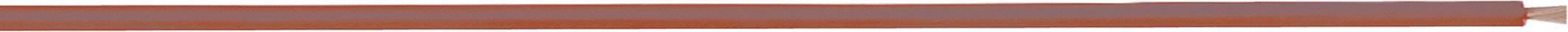 Merací vodič LappKabel 4560056S LiFY, 1 x 2.50 mm², vonkajší Ø 4.20 mm, metrový tovar, červená