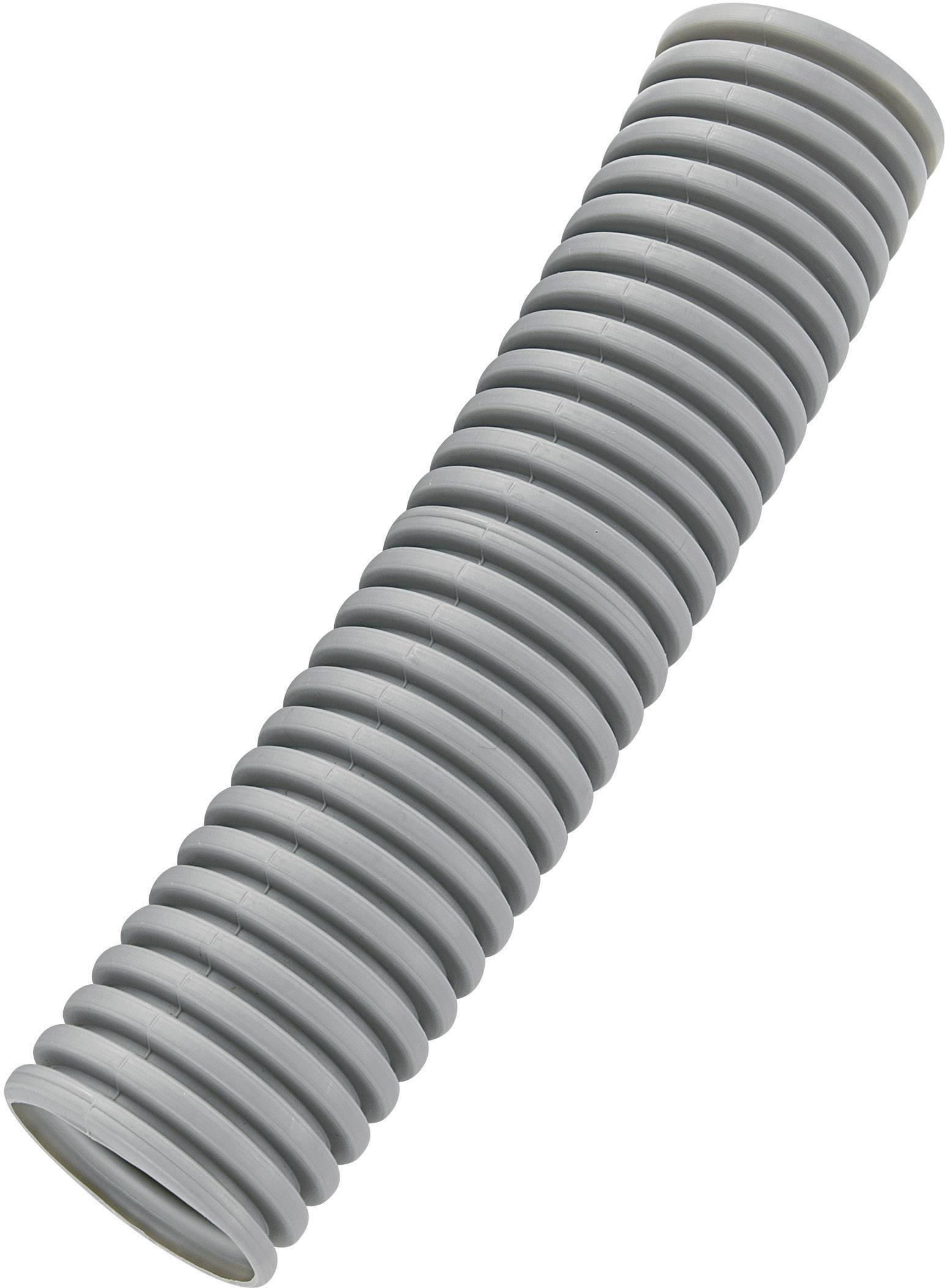 Husí krk KSS BGR20P, 20 mm, šedá
