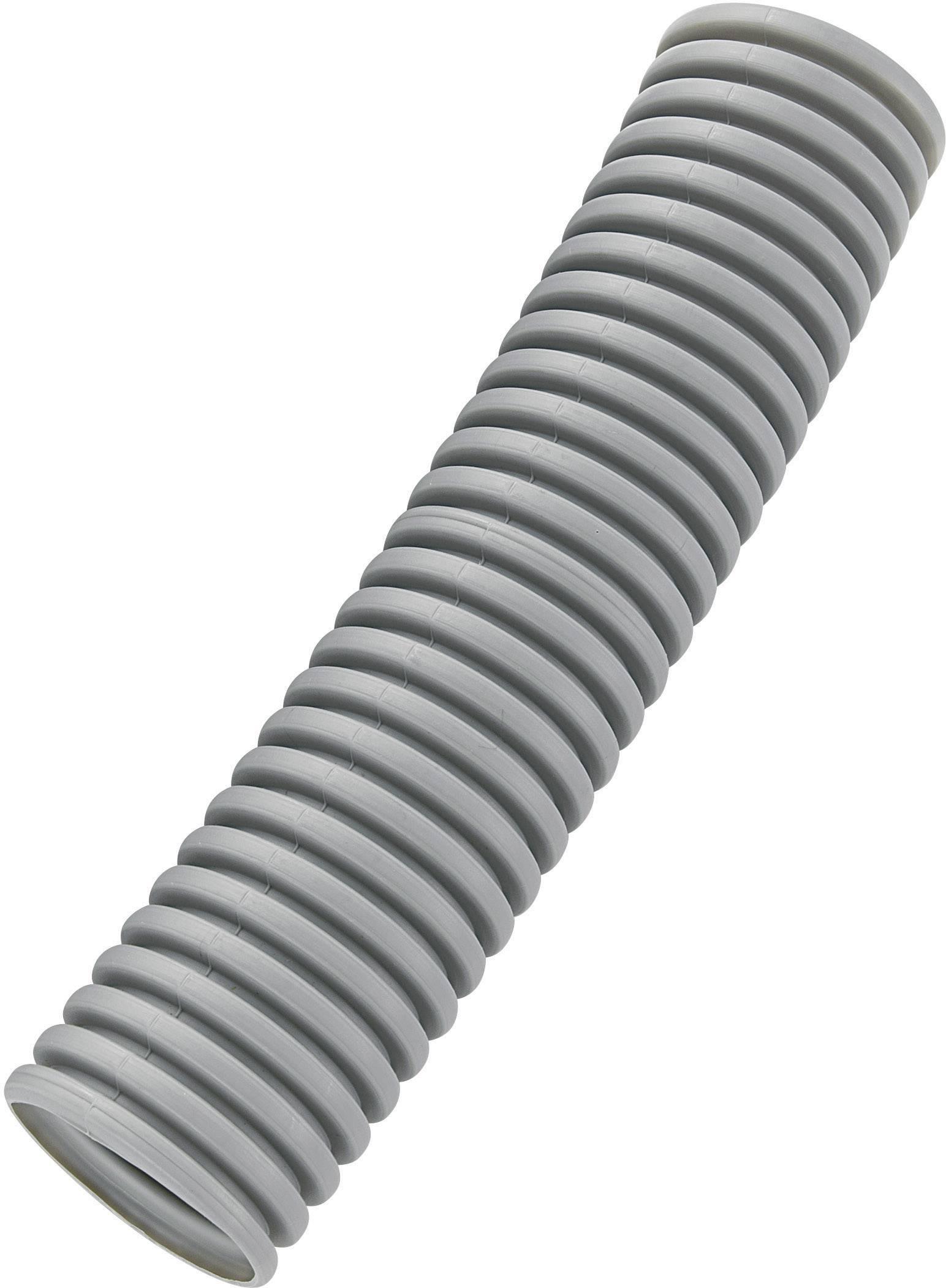 Husí krk KSS BGR48P, 48 mm, šedá