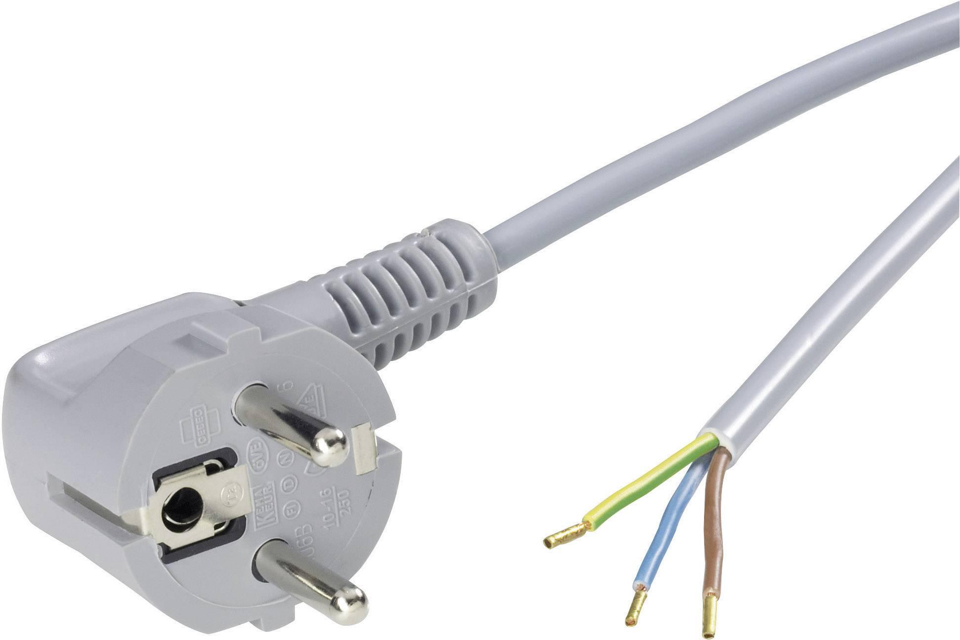 Připojovací kabel NETZFLEXR H03VV-F 3G0,75 zelený