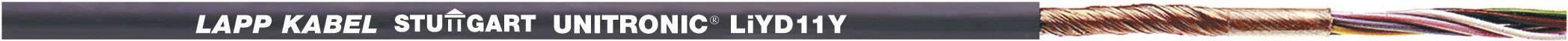 Dátový kábel LappKabel 0033306 UNITRONIC® LiYD11Y, 6 x 0.25 mm², čierna, metrový tovar