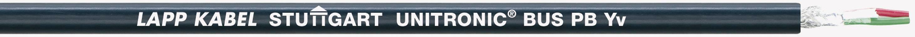Zbernicový kábel LappKabel UNITRONIC® BUS 2170223, vnější Ø 9.40 mm, čierna, metrový tovar