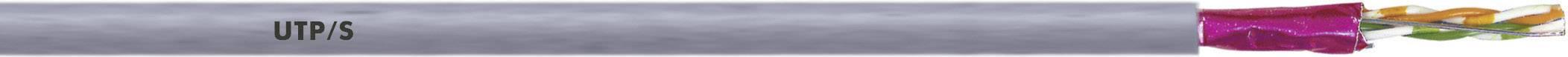 Sieťový kábel ethernetový LappKabel UNITRONIC LAN 600 S/FTP CAT7 Y FLEX, S/FTP, 4 x 2 x 0.13 mm², sivá, 100 m