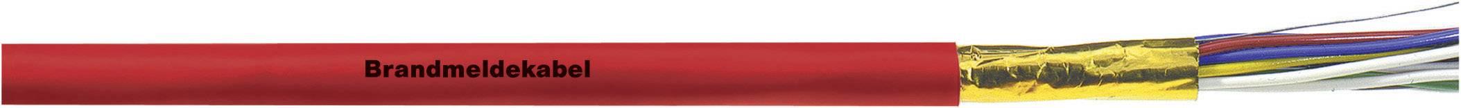 Signalizační kabel LappKabel J-Y(ST)Y 1X2X0,8 (1708001), 6 mm, červená, 1000 m