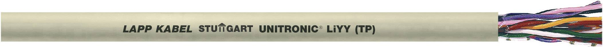 Dátový kábel LappKabel 0035108 UNITRONIC® LiYY (TP), 10 x 2 x 0.14 mm², sivá, metrový tovar