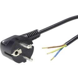Síťový kabel LappKabel, zástrčka/otevřený konec, 0,75 mm², 3 m, černá
