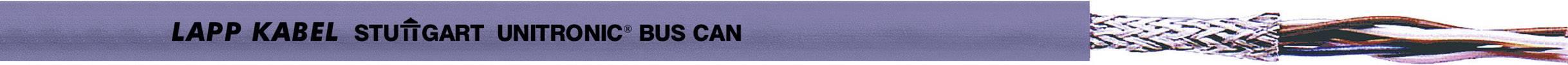 Zbernicový kábel LappKabel UNITRONIC® BUS 2170266, vnější Ø 7.50 mm, fialová, metrový tovar