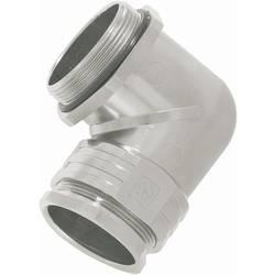 Úhlová kabelová průchodka Lappkabel Skindicht® RWV-M12 x 1,5, 52107800, IP55, mosaz, stříbrná