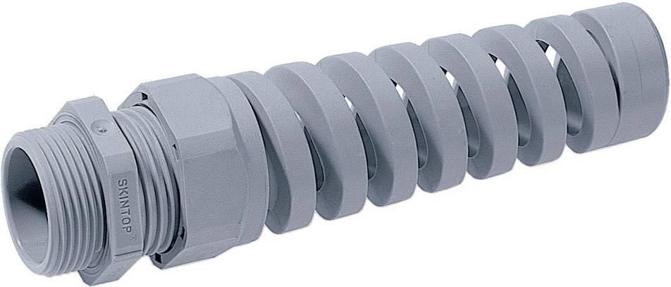 Káblová priechodka LappKabel SKINTOP® BS-M 16 x 1.5;so špirálou chrániacou proti ohybu, polyamid, svetlo sivá (RAL 7035), 1 ks