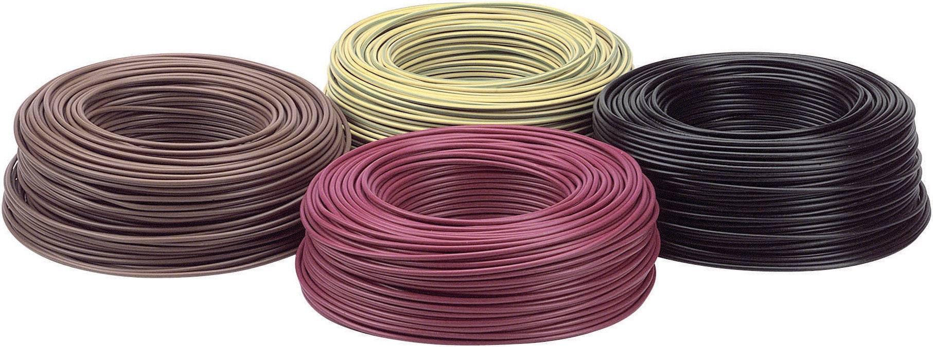 Opletenie / lanko LappKabel 4520013 H07V-K, 1 x 4 mm², vonkajší Ø 4.80 mm, 100 m, čierna