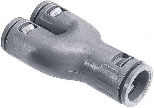 Rovná LappKabel SILVYN® KLICK-Y 3X11 56000130, 9 mm, 7 mm, 7 mm, sivá, 1 ks