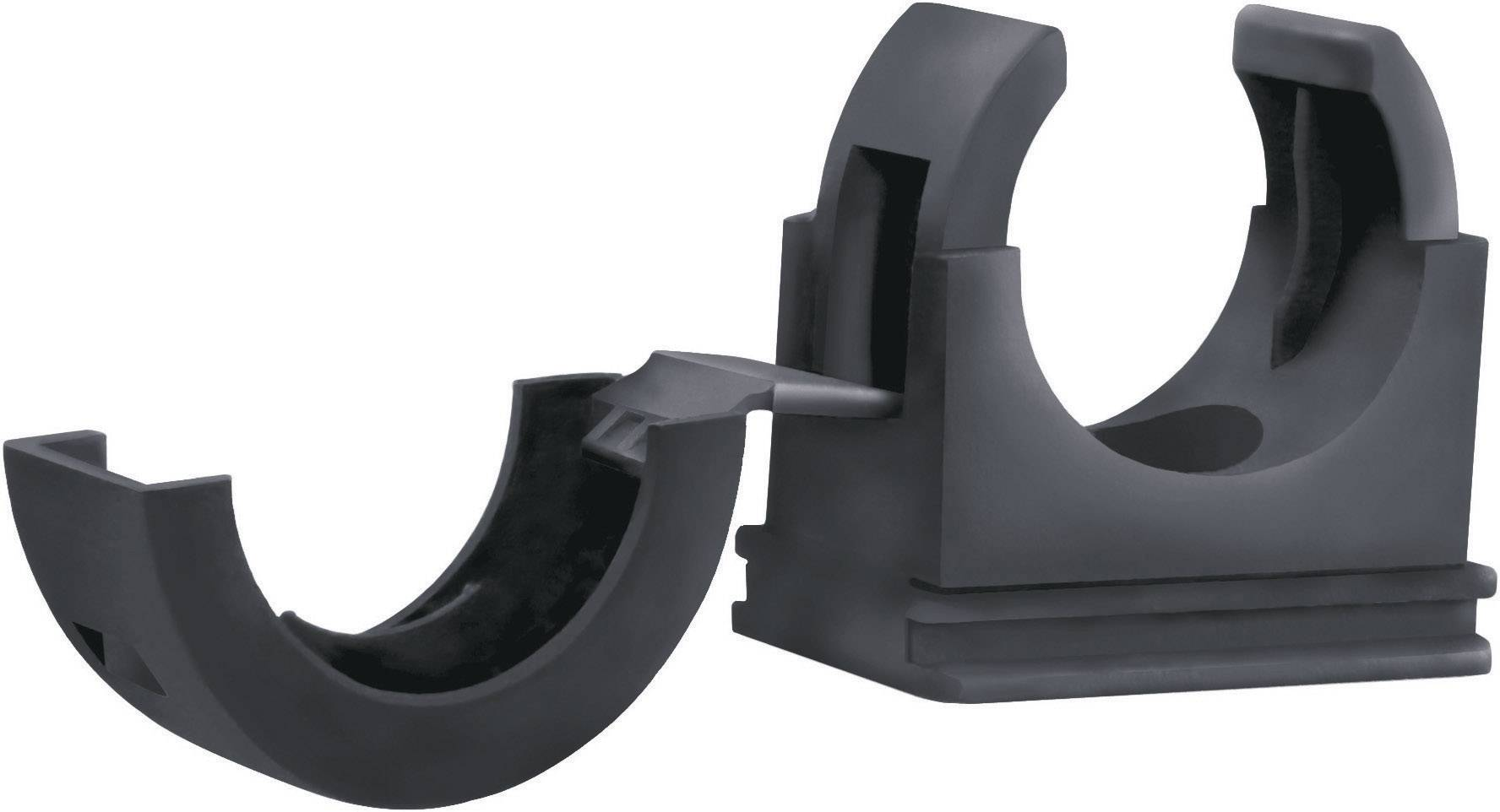 Držák hadice LappKabel Silvyn FCL 13, 55506915, O 9,8 mm, černá