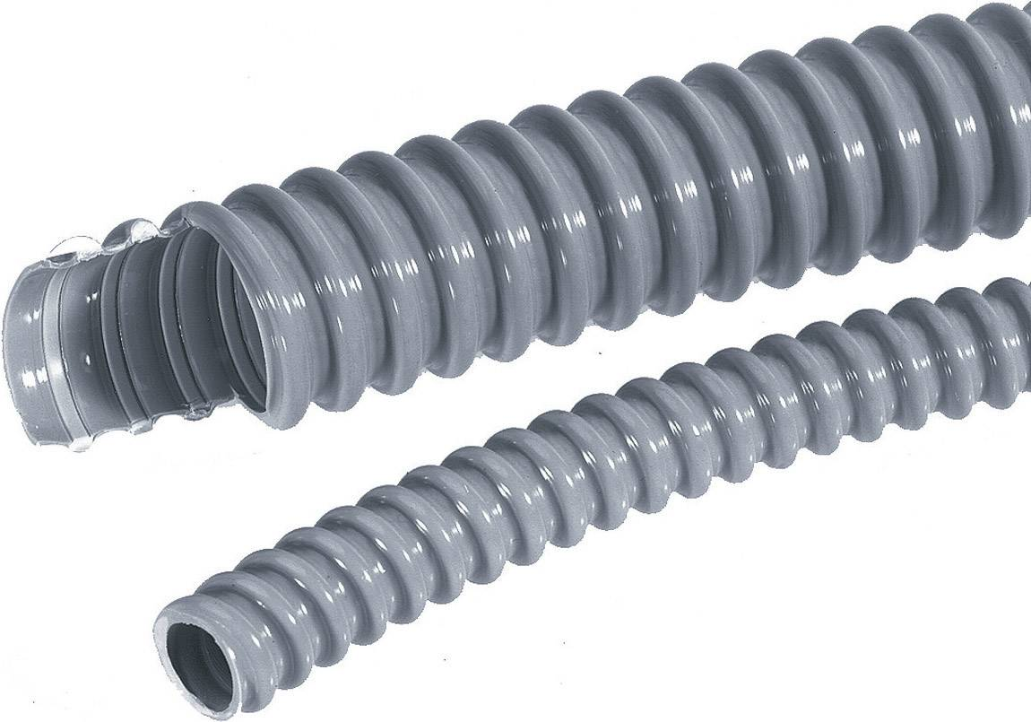 Ochranný husý krk LAPP SILVYN® EL 12x16,6 SGY 61747370, 12 mm, stříbrnošedá (RAL 7001), 10 m