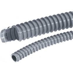 Ochranný husý krk LAPP SILVYN® EL10X14,7 61747360, 10 mm, stříbrnošedá (RAL 7001), metrové zboží