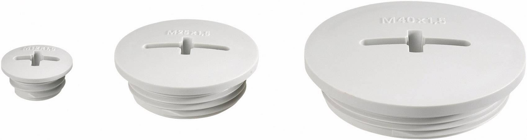 Záslepka LappKabel BLK-M20 (52006620), IP54, M20, polystyrol, světle šedá (RAL 7035)