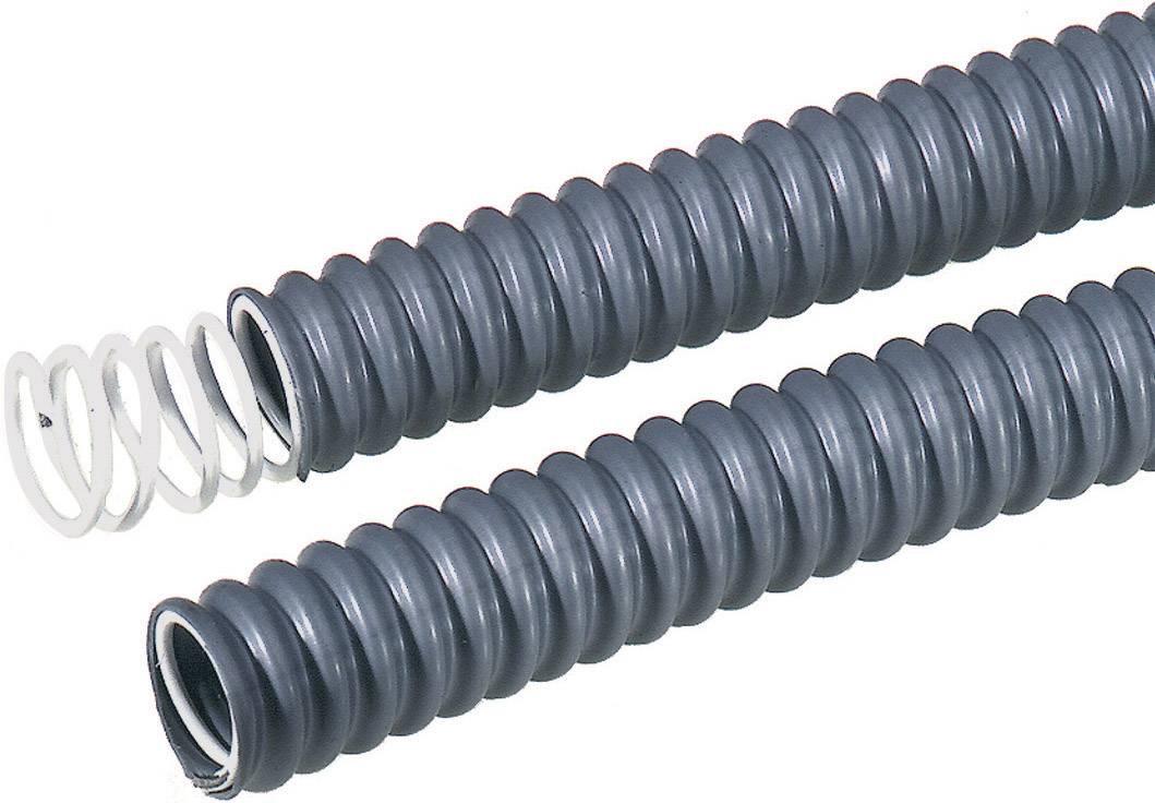 Ochranná hadica na káble LappKabel SILVYN® FPS 61721740, 21 mm, sivá, metrový tovar