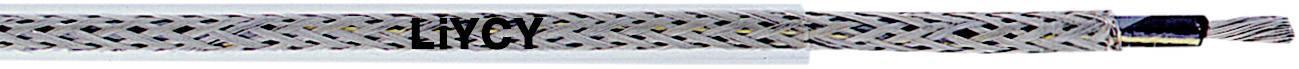 Opletenie / lanko LappKabel 4530103 LiYCY, 1 x 0.50 mm², vonkajší Ø 3.40 mm, metrový tovar, priehľadná