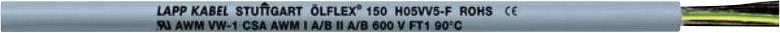 Datový kabel LappKabel Ölflex 150 QUATTRO, 5 x 0,5 mm², šedá, 1 m
