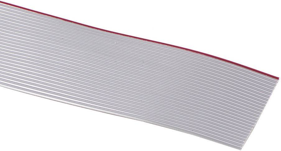 Plochý kábel 3M 7000057941, rozteč 1.27 mm, 16 x 0.08 mm², sivá, metrový tovar
