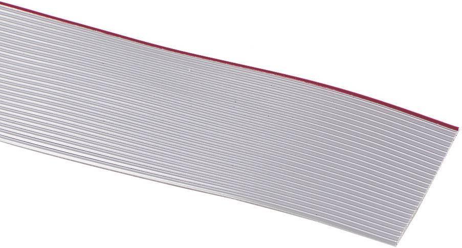 Plochý kábel 3M 7000057950, rozteč 1.27 mm, 34 x 0.08 mm², sivá, metrový tovar