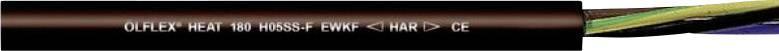 Silikonový vysokoteplotní kabel LAPP ÖLFLEX® HEAT 180 H05SS-F EWKF 0046905, 3 G 1 mm², černá, metrové zboží
