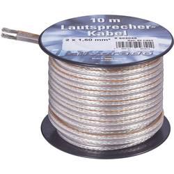 Kábel k reproduktoru AIV 23556L, 2 x 2.50 mm², strieborná, 10 m
