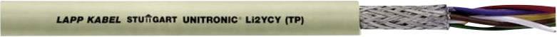 Dátový kábel LappKabel 0031323 UNITRONIC® Li2YCY (TP), 8 x 2 x 0.22 mm², sivá, metrový tovar