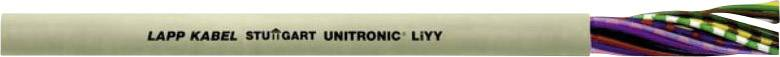 Dátový kábel LappKabel 0028314 UNITRONIC® LiYY, 14 x 0.25 mm², kremencová sivá (RAL 7032), metrový tovar