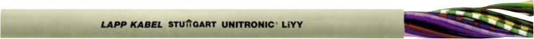 Datový kabel UNITRONIC LIYY 4 x 0,34 mm2, křemenná šedá
