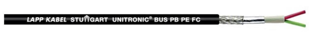 UNITRONICR BUS L2/FIP 1x2x0,64mm ČERNÝ