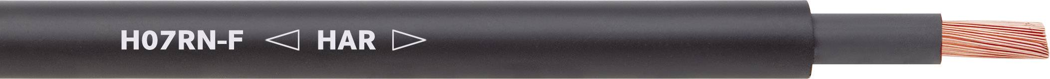 Připojovací kabel LAPP H07RN-F, 1600103, 3 G 1.50 mm², černá, 100 m