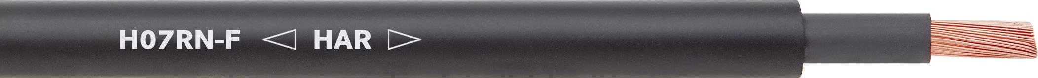 Připojovací kabel LappKabel H07RN-F, 1600103, 3 G 1.50 mm², černá, 100 m