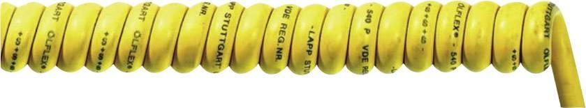 Spirálový kabel LappKabel Ölflex® SPIRAL 540 P (71220119), 300/900 mm, 300/500 V, žlutá
