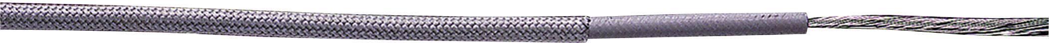 Vysokoteplotný drôt LappKabel 0065104 ÖLFLEX® HEAT 180 SIF, 1 x 1 mm², vonkajší Ø 3 mm, metrový tovar, priehľadná